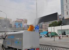 2014国际节能环保展:PM2.5除霾车亮相备受好评