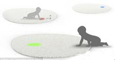 """宝宝们的最爱 LED光点""""欢乐毯"""""""