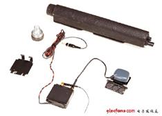 跟踪器的全家福 - 美国FBI秘密跟踪器拆解:震撼的内部结构