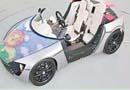"""熊孩子发福利了! 丰田推出""""高大上""""LED玩具车"""