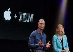 苹果联手IBM进军企业市场直接威胁黑莓