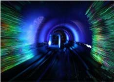 外滩人行观光隧道带你穿越LED光影时光(图文赏析)