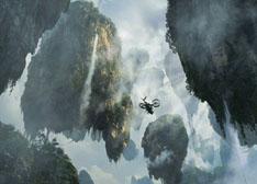 浮在空中 《阿凡达》中悬浮山的奥秘