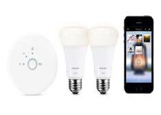 飞利浦又出LED灯泡:全新Hue Lux智能灯泡