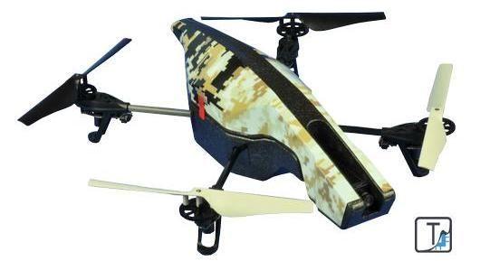美国无人机Parrot AR.Drone2.0拆解(多图)