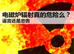 谣言揭秘:电磁炉辐射真的危险么?(图)