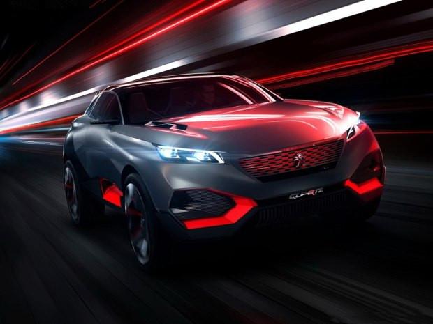 巴黎汽车展标致Quartz、奔驰AMG GT等谍照曝光 疑似采用LED照明