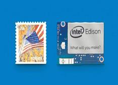 """英特尔家的""""爱迪生"""":邮票大小的Edison低功耗芯片亮相"""