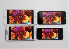 【屏幕大比拼】iPhone 6/Plus/5s对比三星S5谁更强?