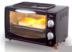 电烤箱使用保养技巧:烤盘加水食物更美味