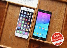 【头条】机皇对决 大屏三星Note4/iPhone6 Plus图赏