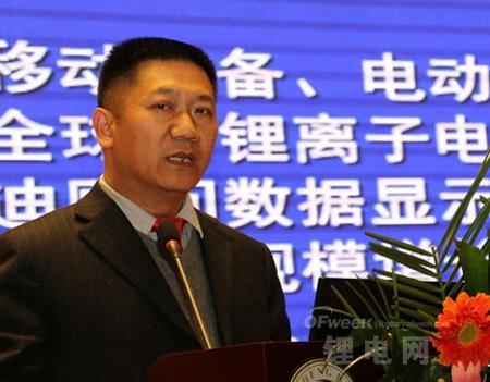 孙冬泉:全球锂电池需求将高速增长 储能领域或迎爆发