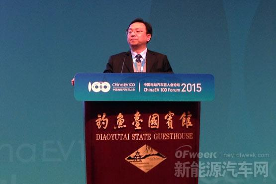 比亚迪王传福:纯电动是未来 插电式混动车更接地气