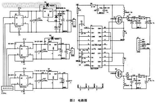 高性能舰载绘图机多输出稳压电源设计