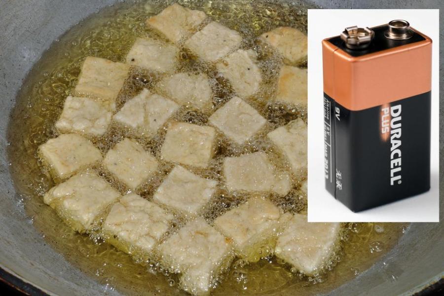 神奇:油炸石墨烯?提升电池效率?!