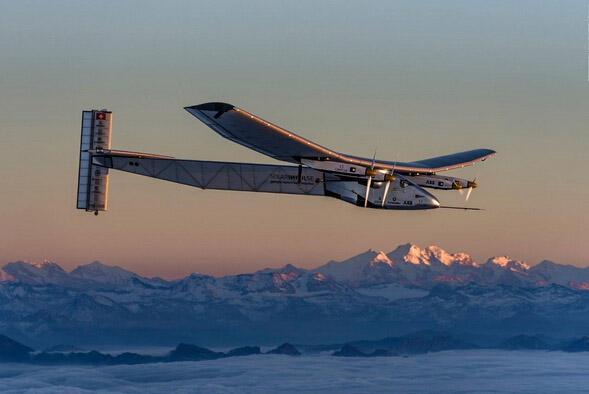 全球首次太阳能飞机环球飞行蓄势待发(图)