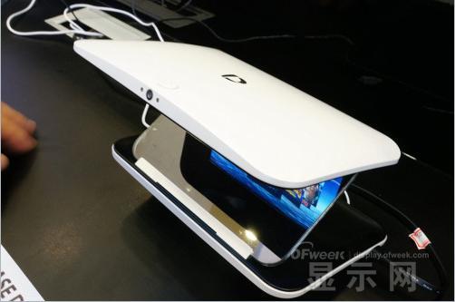 super D裸眼3D手机扩展显示设备现身CES 2015