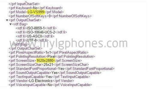 Verizon版LG G4或配3K显示屏