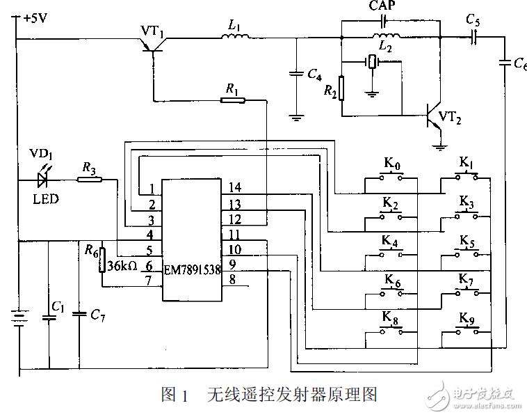 无线遥控智能照明系统电路设计