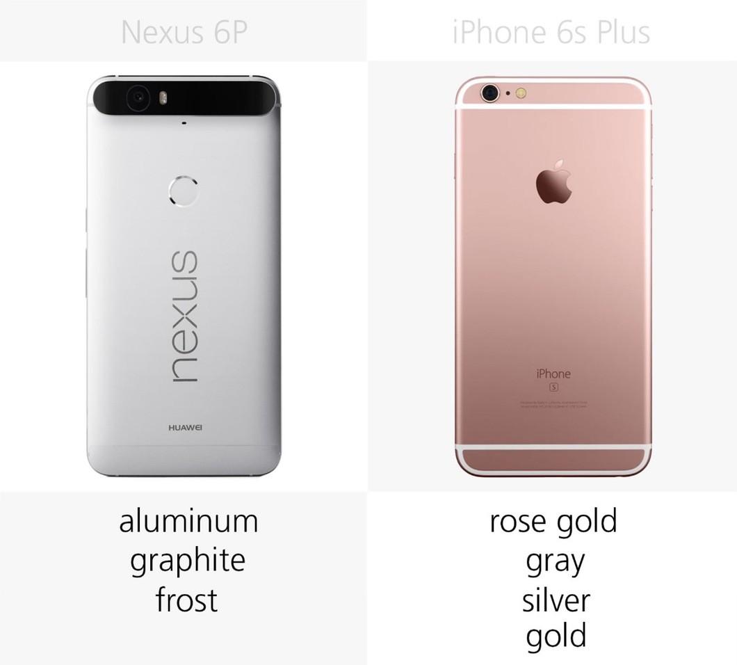 谷歌苹果最强对决 nexus 6p和6s plus对比