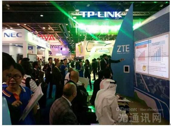 中兴通讯亮相迪拜GITEX  展现M-ICT时代战略布局