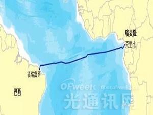 华为拿下喀麦隆-巴西跨大西洋海底光缆系统
