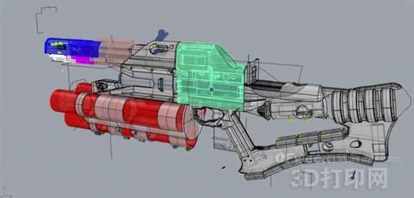 手持式电磁轨道炮