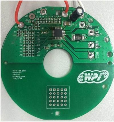 无需任何霍尔传感器;   ③高速旋转:当使用4极电机时,最大功率转速为3