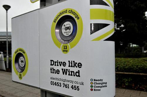 日产汽车游说英国政府设立电动汽车专门标识高清图片