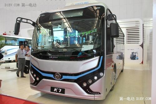 比亚迪K7纯电动客车-纯电动客车入驻客运市场 当家作主还是望洋兴叹高清图片