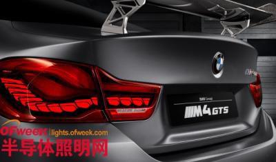 宝马将成为全球首家生产带有OLED尾灯的汽车制造商?