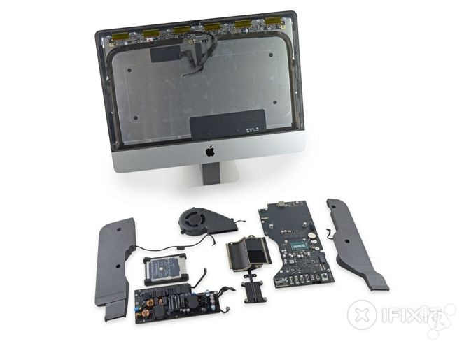 新4K iMac拆解: 屏幕来自LG 内部元件小改