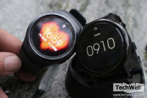 国行Moto360二代对比三星Gear S2:设计与硬件之争