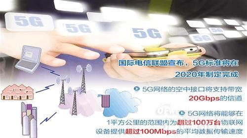 5G发展明确路线:2018冬奥演示 2019频谱分配