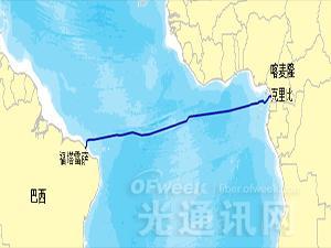 华为赢得喀麦隆巴西海缆系统CBCS订单