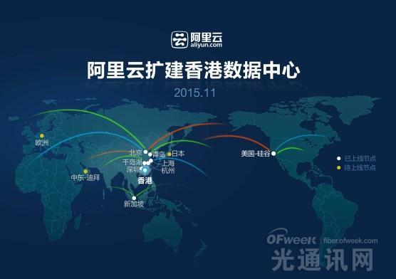 供不应求:阿里云宣布完成香港数据中心的扩建
