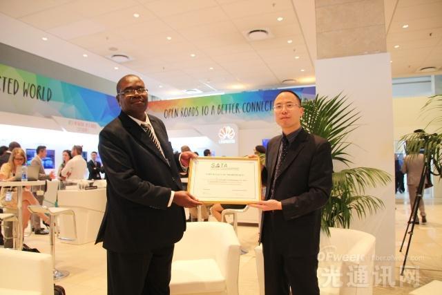 华为亮相非洲最大科技展会AfricaCom2015