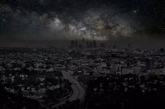 灯光,城市