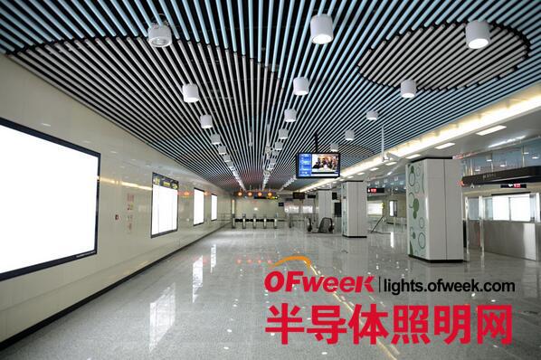 """地铁1号线,2号线提供led照明系统化解决方案的案例成功夺得""""最佳led"""
