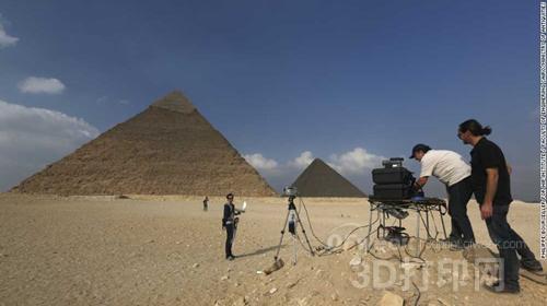 3d扫描或将揭开埃及金字塔之谜
