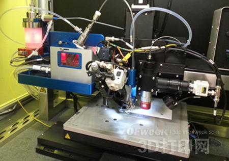 气溶胶喷射技术3D打印飞机最小部件