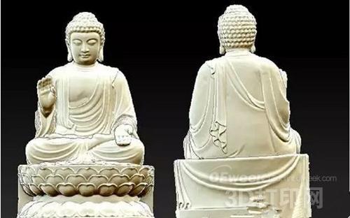 日本寺院供奉3D打印佛像成新风潮
