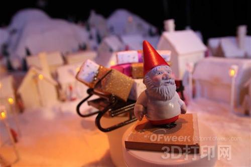 丹麦电视台3D打印制作圣诞片头