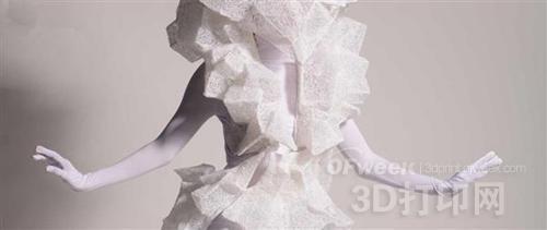 3D打印笔创作迷人可穿戴雕塑