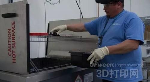 超声波高效去除可溶性3D打印支撑材料