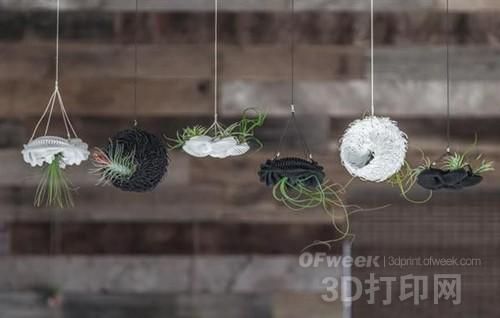 3D打印唯美气生植物花架
