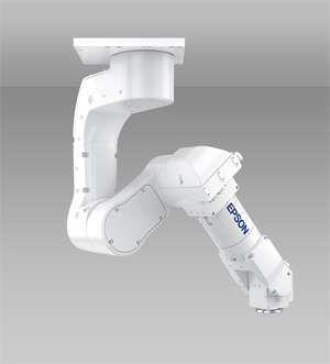 爱普生研发全新系列六轴机器人 可大大节省安装空间