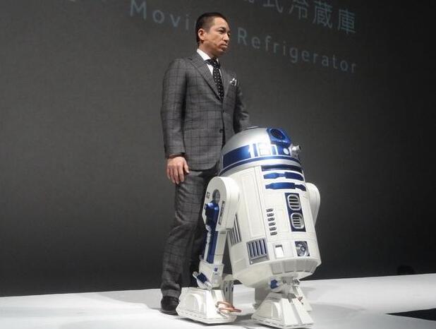 R2-D2机器人冰箱