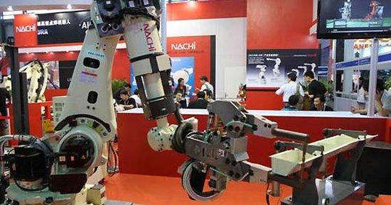 沈抚新城机器人产品。