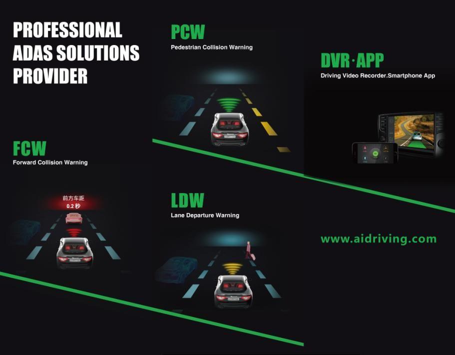 驾车卫士携全系列ADAS产品重磅出击上海法兰克福展